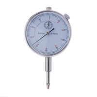 Wholesale New Precision Tool mm Accuracy Measurement Instrument Round Dial Indicator Gauge Vertical Contact H12268
