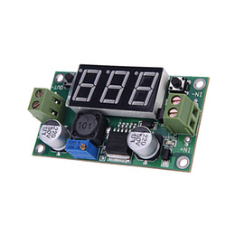Wholesale LM2596 V to V V LED Voltmeter Step Down Power Module Screws Voltage Regulator Experimental Power Buck Converter H12115