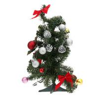Wholesale 12pcs cm New Year Round Christmas Balls Pine Cones Tree Baubles Light Decoration Ornaments Glitter Decor Enfeites De Natal H13545
