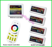 Wholesale Wifi led controller zone wireless touch screen led remote controller X RGBW led controller