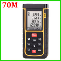 rangefinder - X70 m Laser distance meter with bubble level Tape tool Rangefinder Rang finder measure Area Volume OEM
