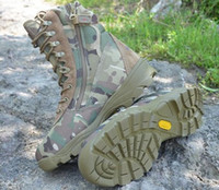 Cheap Wholesale-Magnum Waterproof Multicam Camouflage Boot Military Boots Shoes Genuine Leather Camouflage Boot,Hunting Hiking Shoes