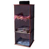 clothes closet organizer - Home Hanging Closet Storage Bag Organizer Shelf for Lingerie Bra Clothes