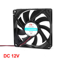 Wholesale 80mm x mm x mm pin V DC Brushless Cooler Fan for PC Case CPU Cooler