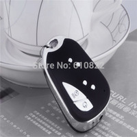 Wholesale 1pc Mini Hidden Camera Sound control Video Car Keychain DVR Remote Key Micro DV without gift box