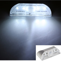 Wholesale New Auto PIR Keyhole Motion Sensor Sensitive Detector Light Kitchen Closet Cabinet Lamp LED H12497