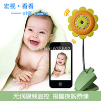 Baby Monitors - Portable Baby Monitor Wifi IP Camera DVR Night Vision Mic For IOS System Andriod Smartphone