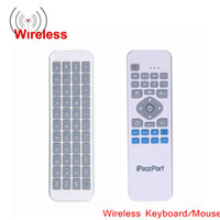 wireless rf remote control - 2 GHz RF Mini Wireless Keyboard Remote Control Handheld with Fly Air Mouse for Smart TV Car Android PC C1970
