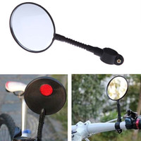 Wholesale Mountain Road MTB Bike Bicycle Rear View Mirror Reflective Safety Flat Mirror Cycling Accessory H13850