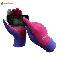 Wholesale Windproof Outdoor Sports Skiing Winter Mittens Women Men Touch Screen Cycling Camping Hiking Gloves Christmas Gifts