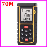 Wholesale RZ70 Laser distance meter M Rangefinder Range finder Tape whit Bubble Level measure Area Volume tester Tool OEM