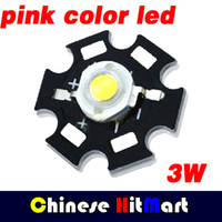 base bead - W Pink High Power LED Bead Emitter nm nm to v with Heat Sink Aluminum Base Plate J100