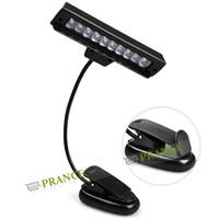 Wholesale LED Beads Portable Led Desk Lamp Clip Lamp Reading Light With Flexible Arm Clip Light Battey USB Power
