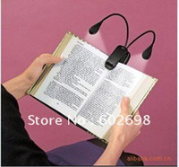 Wholesale LED Reading Lamp Clip on Dual Arms LED Flexible Book Music Stand Light Reading light dropshipping