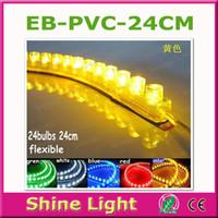 Wholesale price Waterproof flexible Car LED Strip PVC lights cm can mix color