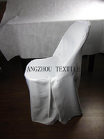 Wholesale white folding Chair Cover banquet chair cover wedding chair cover