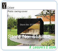 patio furniture - Patio swings cover with zipper Water proofed UV proofed dust proofed outdoor furniture cover