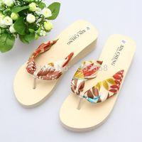 Semelles de pantoufles de gros Avis-Gros-2015 sandale d'été et pantoufles plateforme femme tongs pantoufles chaussures à semelles de pantoufles de sandales de femmes tongs