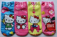 Wholesale pairs factory direct sale socks Kitty kids socks baby socks cartoon design