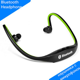 Wholesale Sport wireless bluetooth headset earphone wireless Bluetooth headphone Bluetooth earphone head sets for the telephone