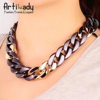 Wholesale Artilady hot sale chain necklace jewelry choker collar women jewelry