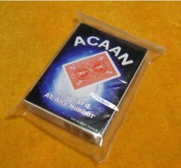 Wholesale Any Card At Any Number of Luchen Version magic tricks card magic illusions card tricks novelties party jokes