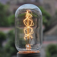 Wholesale Incandescent lamp antique light bulbs vintage light bulb silk light bulb Edison light bulb