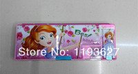 Wholesale NEW collection Sofia princess multifunctional pencil case school supplies with pencil sharpener Plastic pencil box