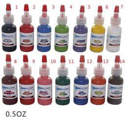 Wholesale Tattoo ink kit tattoo pigment set ml OZ color set C109