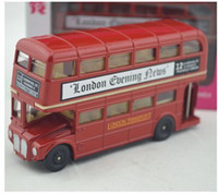 Wholesale car toy emulation London double decker bus model toys for boys high qualtity Birthday gift