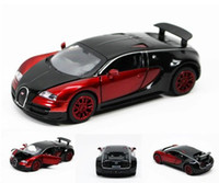 Wholesale New Bugatti Veyron Model Car Toys Pattern Diecast Sound amp light C015