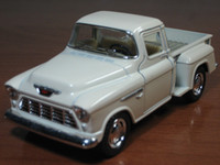 pick up truck - New Scale Chevy Stepside Pick Up Truck Metal Diecast Model Collection Pull Back Action KiNSMART Colors