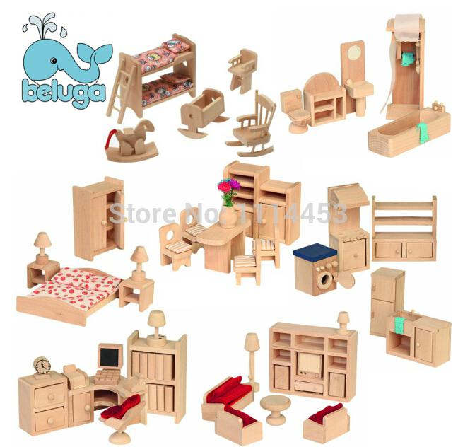 Wholesale small furniture house dream wooden dollhouse for Dream house days furniture