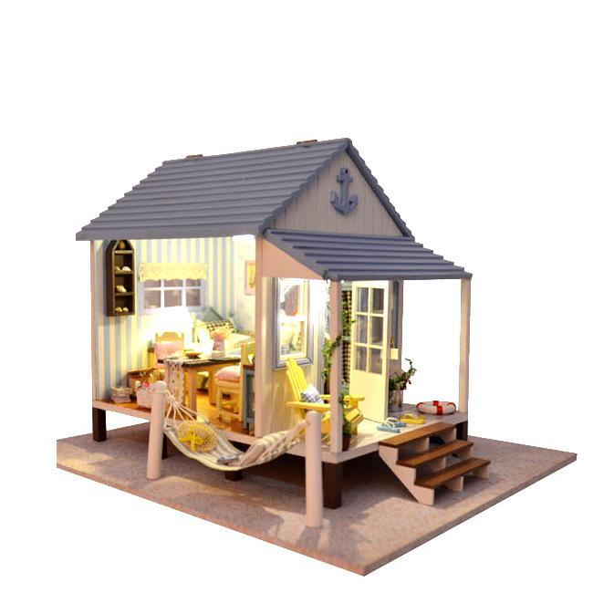 Wholesale New2015 Doll Houses Lover Dream House Furniture Handmade Wooden  House Doll Diy 3d Puzzles Birthday. Wholesale Barbie Dolls Cottage