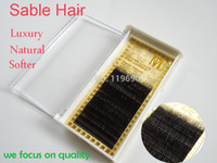 mink eyelashes - C Curl False Eyelashes Genius Mink Hair Natural Long Gentle For Eyes Ultimate Luxury Hand Made Grafting False Eyelashes Professional