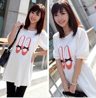 Cheap Wholesale-2015 New Fashion Maternity T-shirt Cute Shoes image Maternity Tee Comfortable Top Hot Selling 1piece
