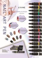 Cheap Wholesale- 1PCS Nail Polish Nail Art Painting Pen(Assorted 16 Colors)&Nail Art Fingernail Polish pens