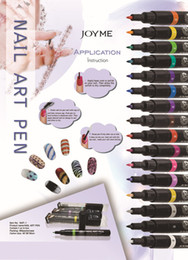 Wholesale Nail Polish Nail Art Painting Pen Assorted Colors amp Nail Art Fingernail Polish pens