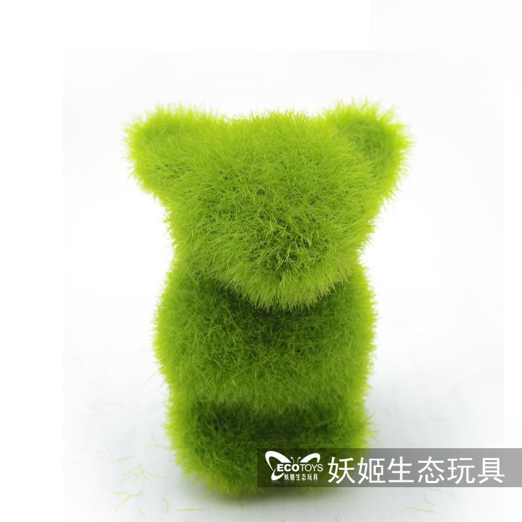 2017 wholesale small animals artificial grass decorations for Artificial grass decoration crafts