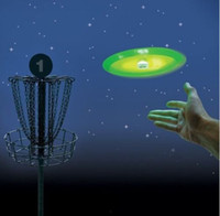 ball frisbee - NEW Frisbee UFO lantern Flashing Frisbee Built in electronic toy Flying Disk