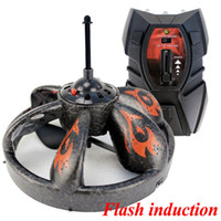 Cheap Wholesale-Hot sell R C Hand Controlled Hovering UFO Remote Control Toy Induction Flying Saucer Disc free ship