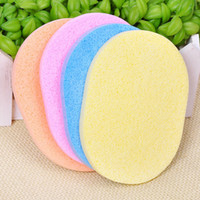 Wholesale Face Cleaning Wash Pad Puff Cosmetic Sponge Powder Puff Seaweed Flutter Makeup Tools X3155