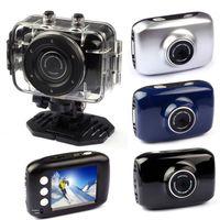 Wholesale Fashion HD Sport DV Helmet Action Digital Video Waterproof Camera Camcorder LCD Display Mega Pixels CMOS Sensor