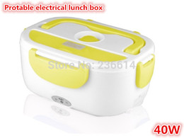 Wholesale Food Storage Organizer cabinet Multi function Electric Portable Lunch Box with EU US Plug