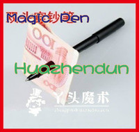 Wholesale plastic pen through dollar Magic tricks magic show magic toys hot sale