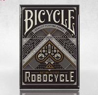 bicycle playing cards - Classic Bicycle Black Robocycle Deck Playing Card Best Magic Cards High Quality Bicycle Playing Cards Poker