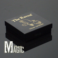 Wholesale The Raven by Chuck Leach Great Visual Vanishing Coin close up Street professional Magic tricks products toys