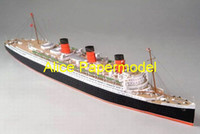 alice mary - Alice papermodel Long meter Liner Queen Mary passenger ship freighter Cargo Ocean going vessels models