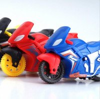 Wholesale Mini pull back motorcycle toy model the best birthday gift for children classic toys