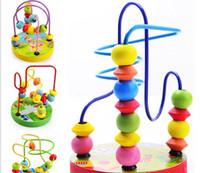 Wholesale Beaded mini games around the bead around the bead animals educational toys hand eye coordination13